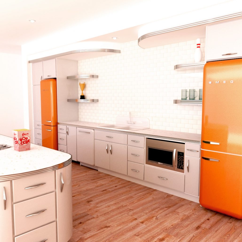 Metal Kitchen Cabinet Design Gallery