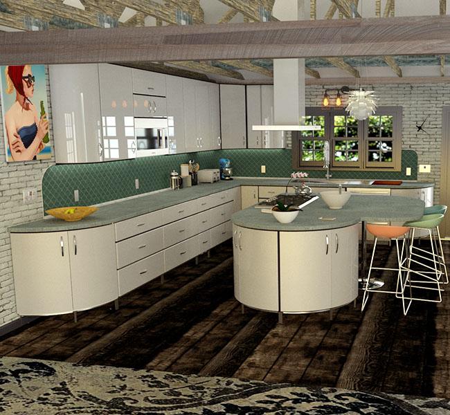 Metal Cabinets Kitchen: Metal Kitchen Cabinets