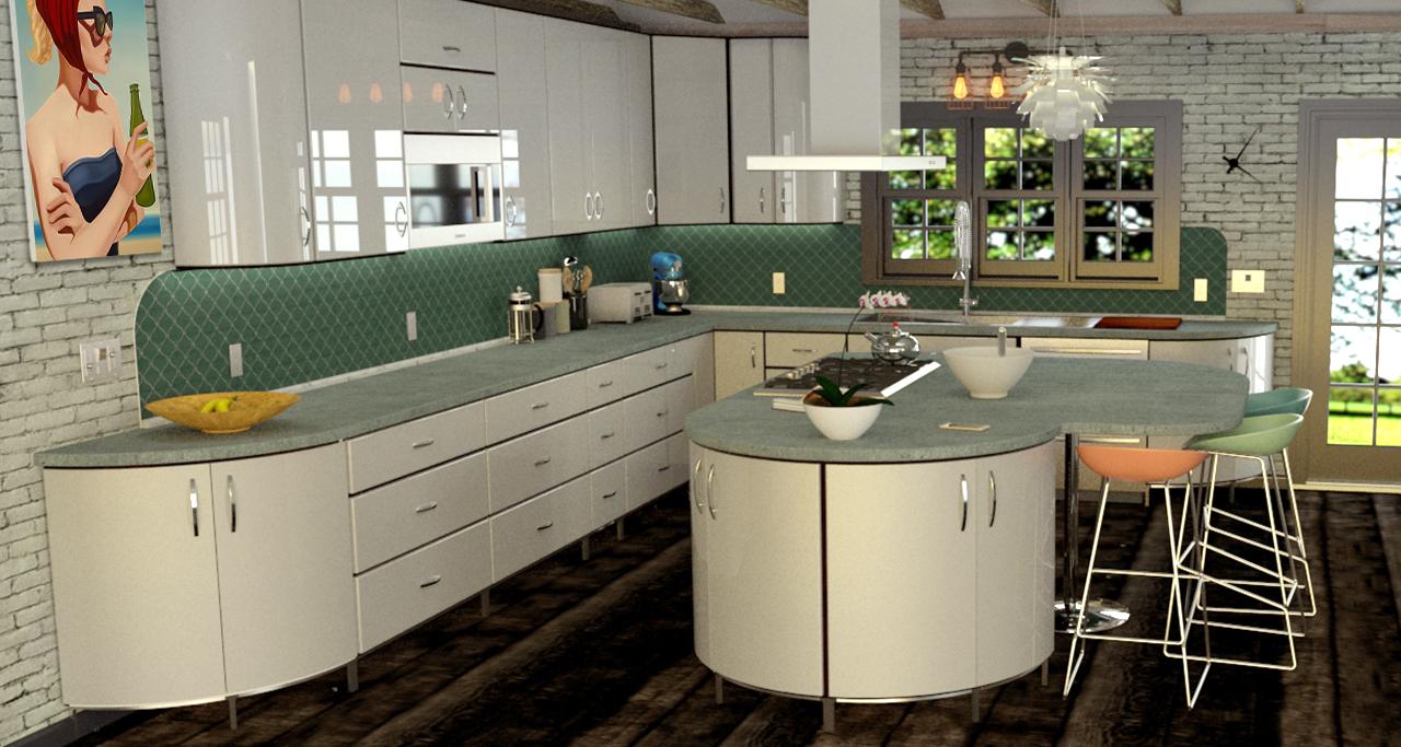Retro to Mid Century Modern Metal Kitchen Cabinets - Toro ...